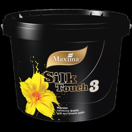 Maxima Silk Touch 3 - Матова латексна фарба для внутрішніх робіт