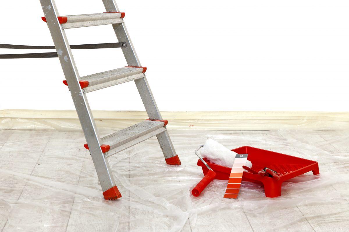 Як легко пофарбувати стелю?