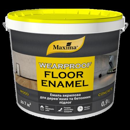 Maxima Емаль акрилова для дерев'яних та бетонних підлог