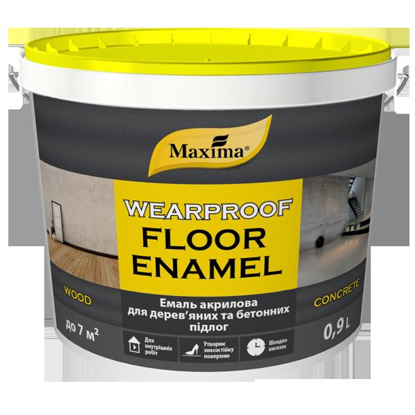 Емаль акрилова для дерев'яних та бетонних підлог