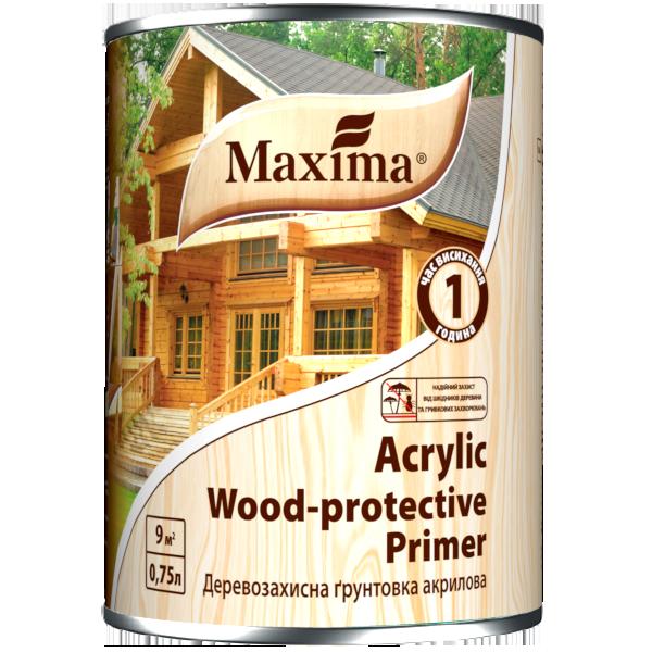 Деревозахисна ґрунтовка акрилова Maxima