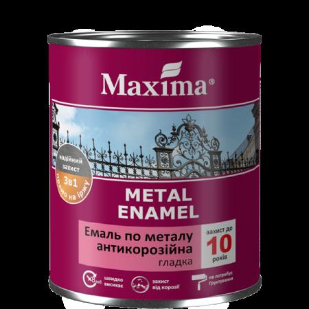 Maxima Емаль антикорозійна по металу 3 в 1, гладка