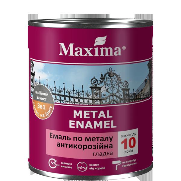 Емаль антикорозійна по металу 3 в 1, гладка