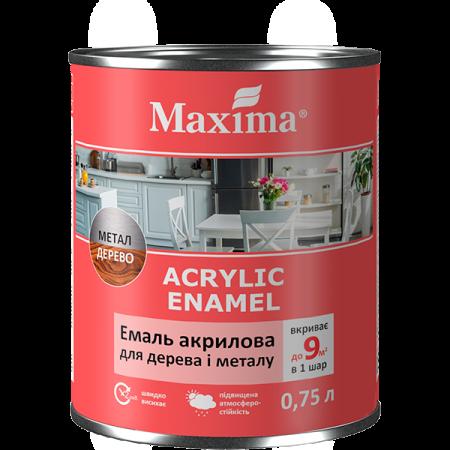 Maxima Емаль акрилова для дерева та металу