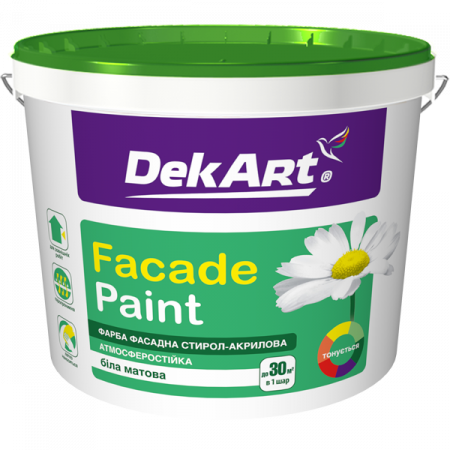 DekArt Faсade Paint - Фарба фасадна