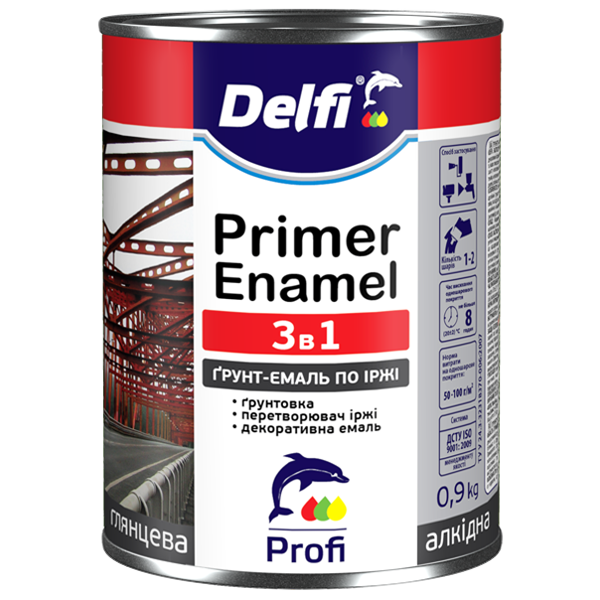 Anticorrosion primer-enamel 3 in 1