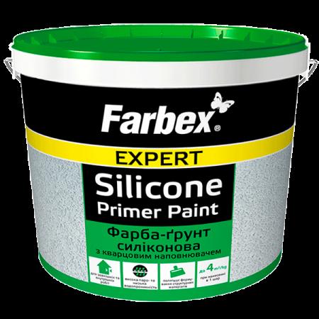 Farbex Фарба-ґрунт силіконова - з кварцовим наповнювачем