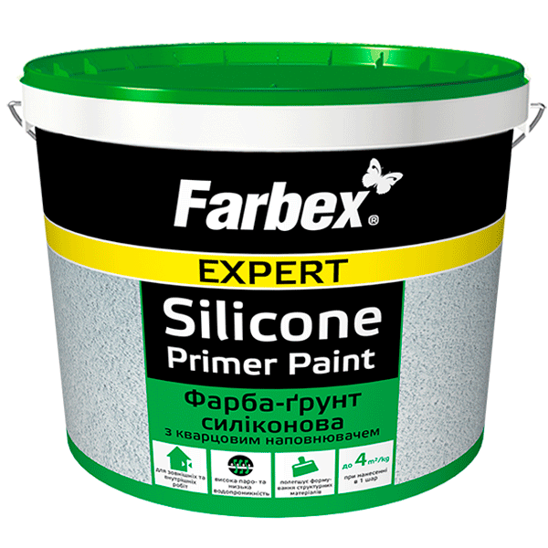Silicone paint-primer