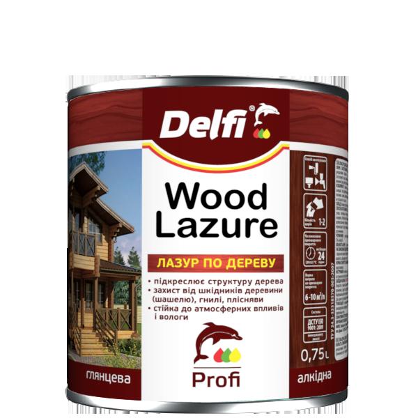 Лазур для дерева Delfi