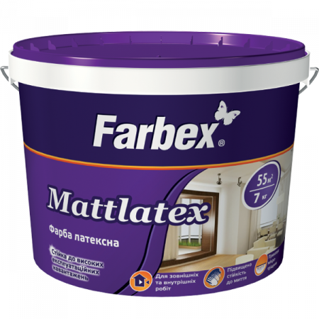 Farbex Mattlatex - Фарба латексна