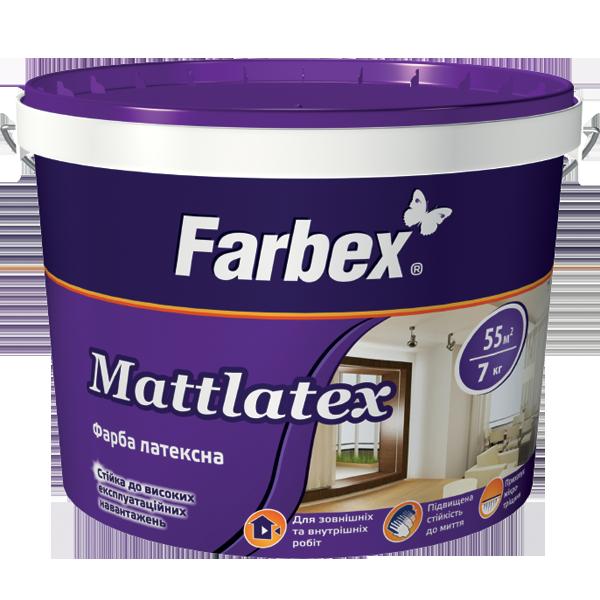 Mattlatex Farbex