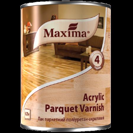 Maxima Лак паркетний поліуретан-акриловий