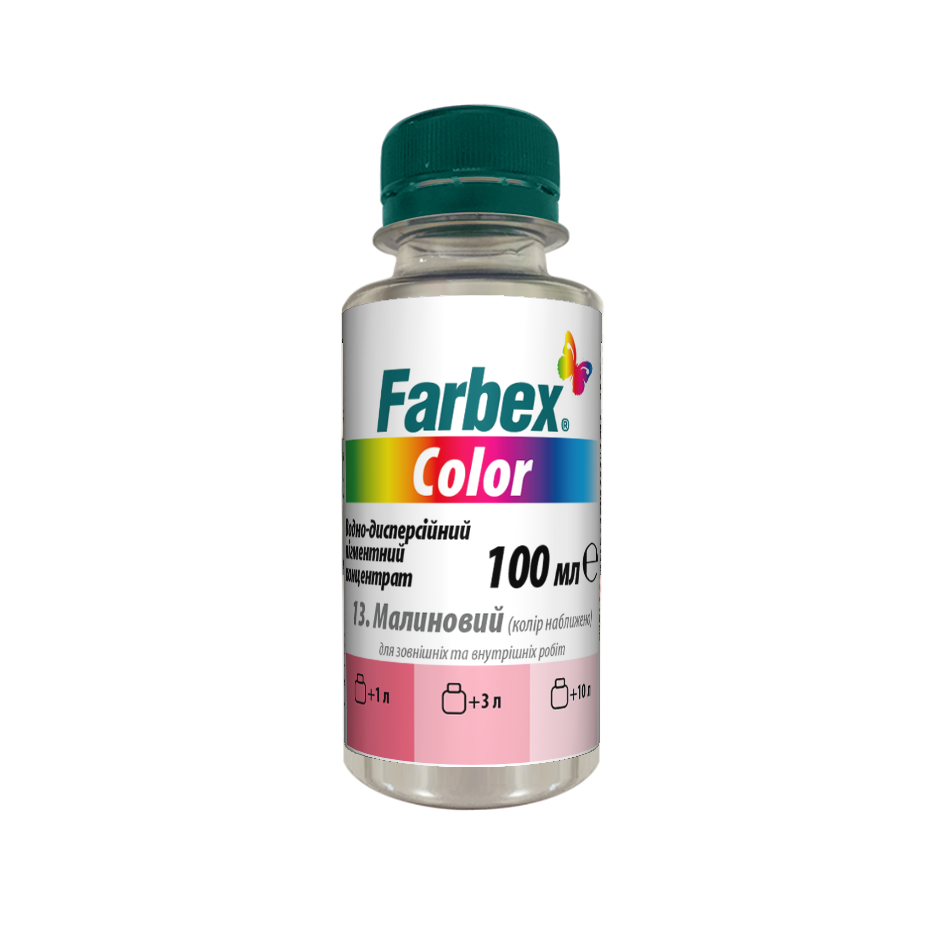 Waterborne concentrate pigment «Farbex Color»