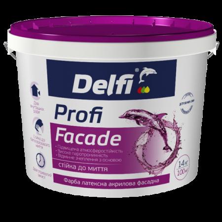 Delfi Profi Facade - Фарба латексна акрилова фасадна