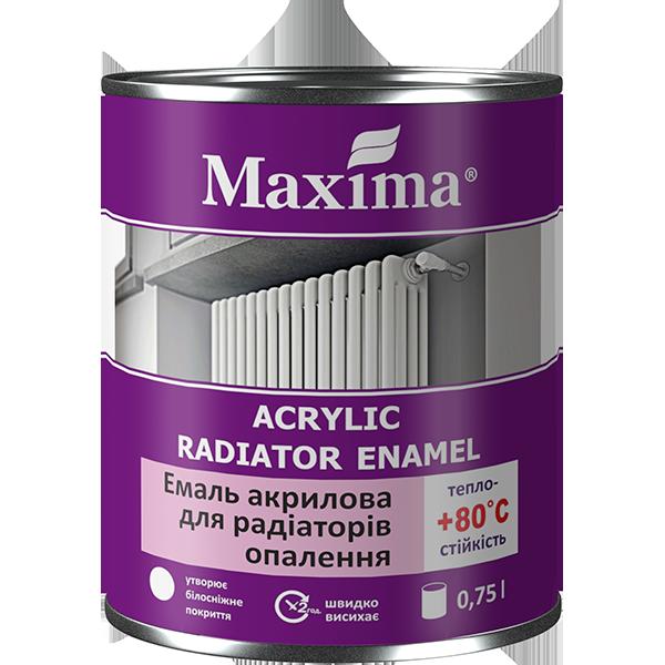 Емаль акрилова для радіаторів опалення Maxima