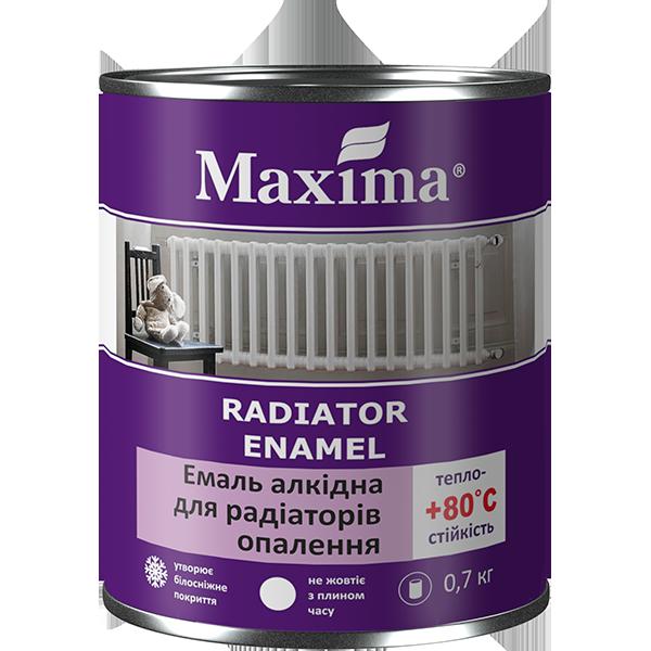 Alkyd radiator enamel