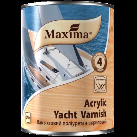 Maxima Лак яхтовий поліуретан-акриловий