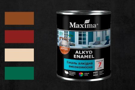 Новые цвета эмали высококачественной Maxima