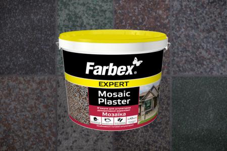 НОВИНКА! Штукатурка декоративна акрилова «Мозаїка» Farbex